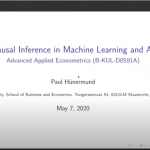 Causal Inference in Machine Learning and AI