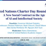 United Nations Charter Day Roundtable: The Social Contract 2020, A New Social Contract in the Age of AI, and Intellectual Society