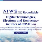 Live Session: Digital Technologies, Elections and Democracy in times of COVID-19