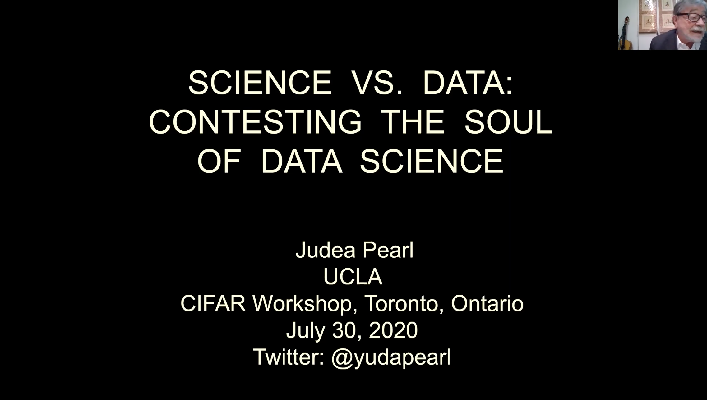 Science vs. Data: Contesting the Soul of Data Science