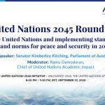 Senator Kimberley Kitching speaks at AIWS Roundtable