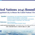 The United Nations 2045 Roundtable: A Distinguished City to Honor the United Nations' First Century