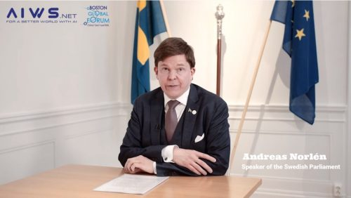 AIWS Summit 2020: Speech by Andreas Norlén, Speaker of the Swedish Parliament