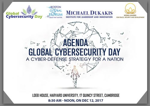 Agenda Of Global Cybersecurity Day Conference December 12