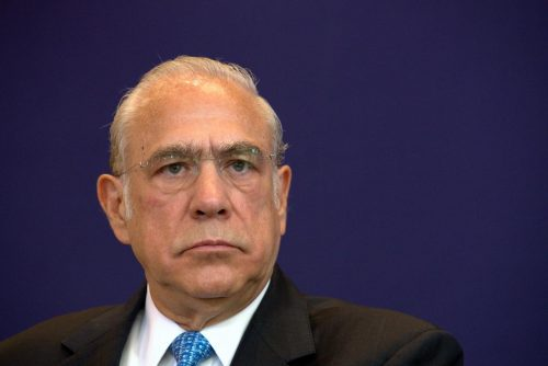 VIDEO: Secretary General of OECD Angel Gurria received World Leader in AIWS Award