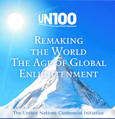 """Launching the book """"Remaking the World – The Age of Global Enlightenment"""""""