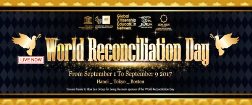 North Korea Peace Initiative is focus of the Boston Global Forum at World Reconciliation Day Symposium 8:30 – Noon, Sept. 9, at Harvard
