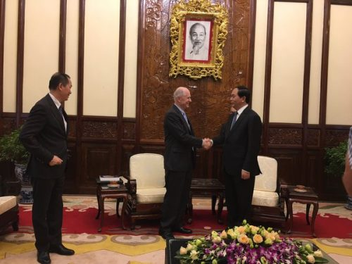 Brown CS News: John Savage Meets With Vietnam's President And Thought Leaders To Improve The Country's Cybersecurity