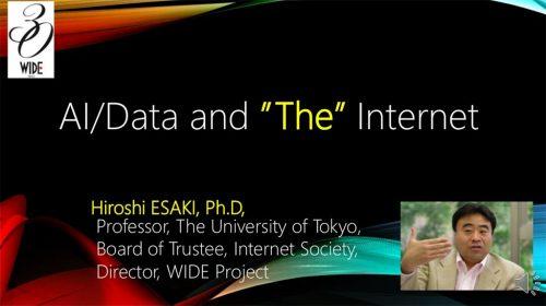 Professor Hiroshi ESAKI talks about Internet of Design